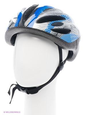 Шлем роликовый Larsen. Цвет: черный, синий, серый