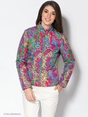 Куртка Baon. Цвет: зеленый, малиновый