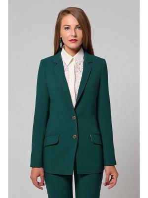 Пиджак LOVA. Цвет: темно-зеленый