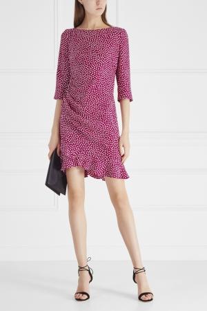 Платье Azzaro. Цвет: розовый