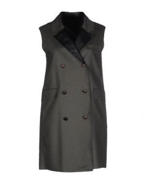 Легкое пальто ALYSI. Цвет: стальной серый