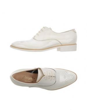 Обувь на шнурках F.LLI BRUGLIA. Цвет: белый