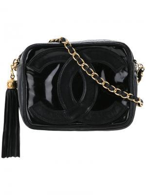 Cc mark shoulder bag Chanel Vintage. Цвет: чёрный