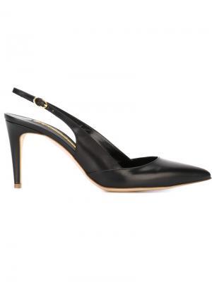 Туфли Daina с открытой пяткой Rupert Sanderson. Цвет: чёрный
