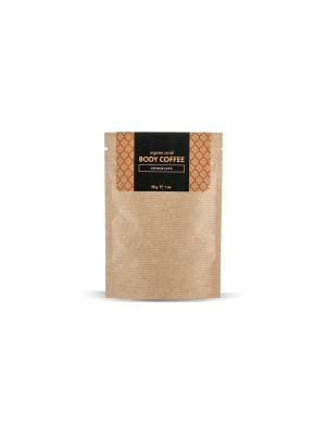Аргановый скраб кофе Huilargan шоколад 30 гр. Цвет: желтый