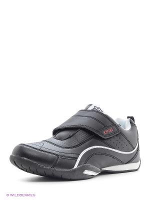 Ботинки KENKA. Цвет: черный