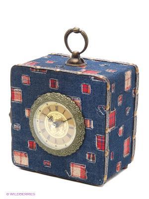 Чемодан Da Sent Lin ARTS. Цвет: синий, красный
