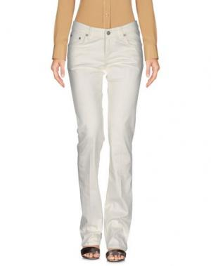 Повседневные брюки SEVEN7. Цвет: слоновая кость