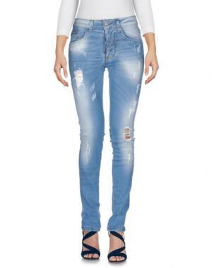 Джинсовые брюки SQUAD². Цвет: синий