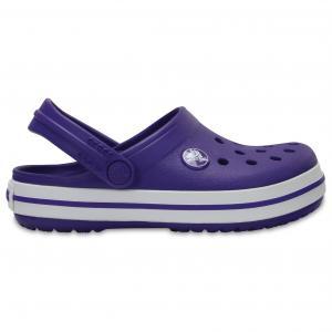 Сабо Crocband Clog Kids CROCS. Цвет: розовый,фиолетовый