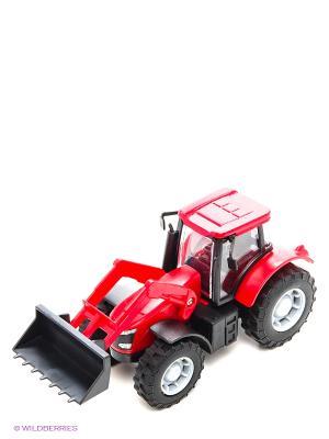 Фермерский трактор Красный HTI. Цвет: красный