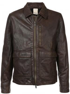Куртка Goose Baldwin. Цвет: коричневый
