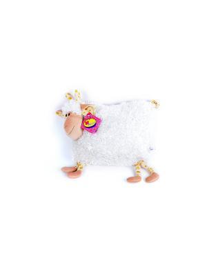 Мягкая игрушка Подружка Козочка 10.161.1цвет бежевый Malvina. Цвет: бежевый, молочный