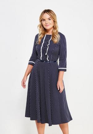 Платье Mankato. Цвет: синий