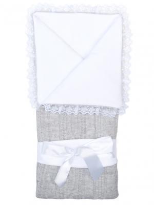 Конверт-одеяло Нежность Сонный гномик. Цвет: серый