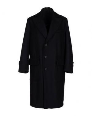 Пальто CINI. Цвет: темно-синий