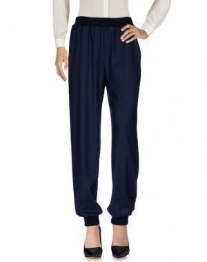 Повседневные брюки GIORGIO GRATI. Цвет: темно-синий