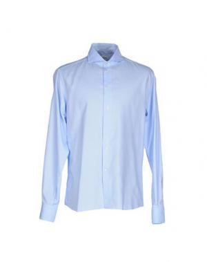 Pубашка NO BRAND. Цвет: лазурный