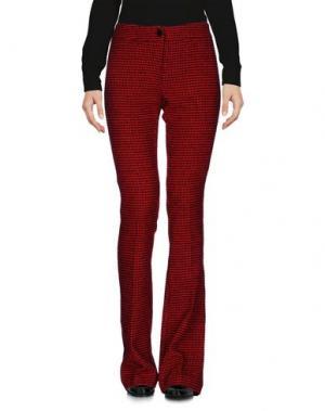 Повседневные брюки ULTRA'CHIC. Цвет: красный