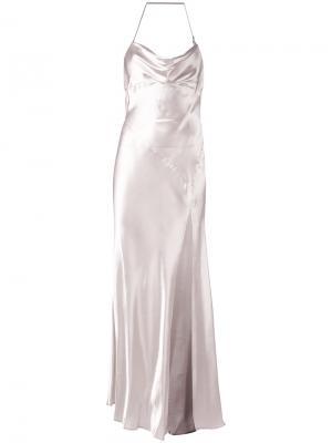Letizia dress Attico. Цвет: розовый и фиолетовый
