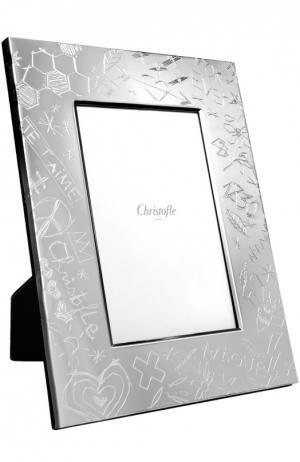Рамка для фото Graffiti Christofle. Цвет: бесцветный