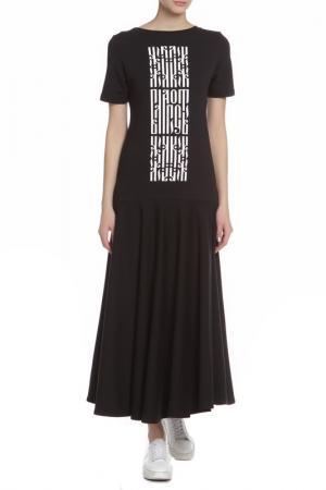 Платье Lava. Цвет: черный
