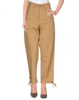 Повседневные брюки TELFAR. Цвет: верблюжий