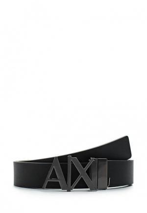 Ремень Armani Exchange. Цвет: черный
