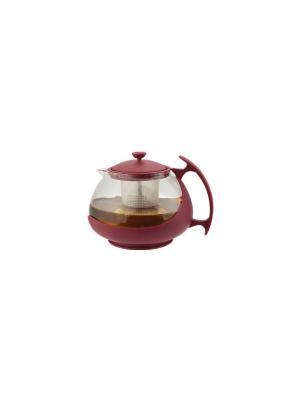 Заварочный чайник Bekker. Цвет: красный