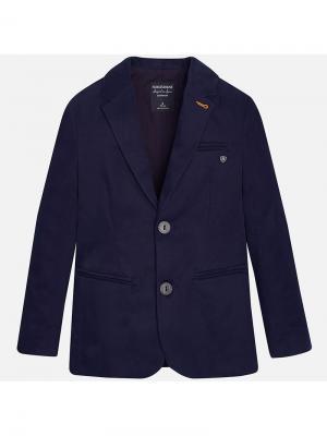 Пиджак Mayoral. Цвет: синий