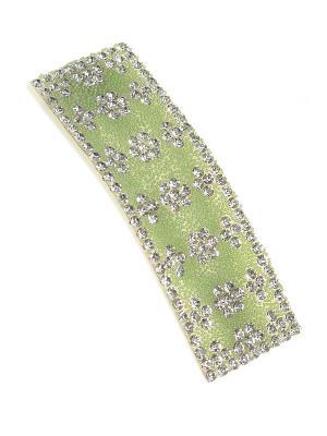 Заколка Migura. Цвет: зеленый, серебристый