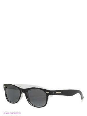 Солнцезащитные очки Mascotte. Цвет: черный, белый