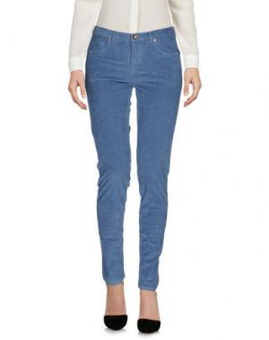Повседневные брюки WOOLRICH. Цвет: грифельно-синий