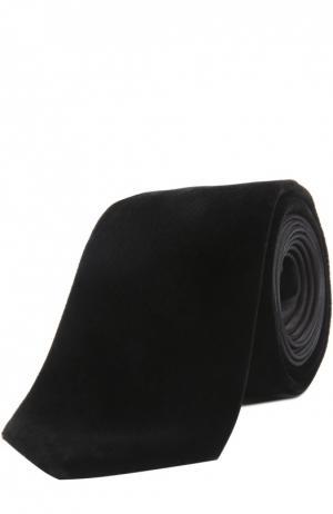 Галстук Saint Laurent. Цвет: черный