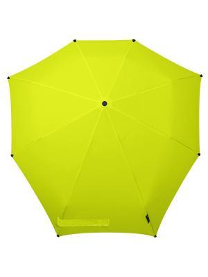 Зонт-автомат senz bright yellow. Цвет: желтый