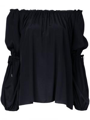 Peasant blouse G.V.G.V.. Цвет: чёрный