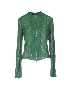 Куртка VINTAGE DE LUXE. Цвет: зеленый