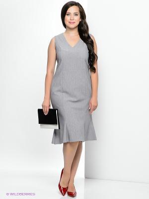 Платье Klimini. Цвет: серый