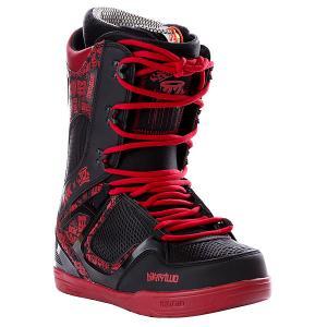 Ботинки для сноуборда  Dgk Black/Red Thirty Two. Цвет: черный,красный
