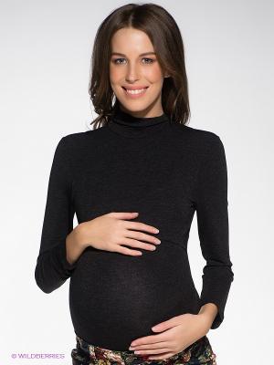 Боди для беременных и кормящих Hunny Mammy. Цвет: антрацитовый
