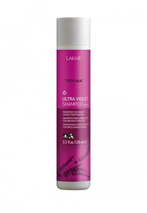 Шампунь оттеночный «Фиолетовый» Lakme. Цвет: фуксия