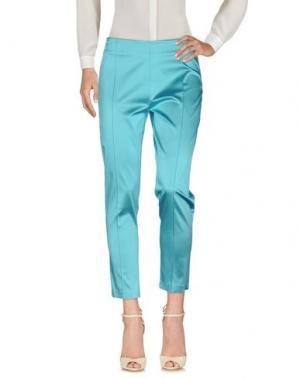 Повседневные брюки SALLY NEW YORK. Цвет: бирюзовый