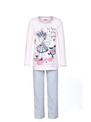 Пижама BAYKAR. Цвет: розовый