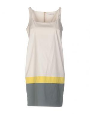 Короткое платье GOSSIP. Цвет: бежевый