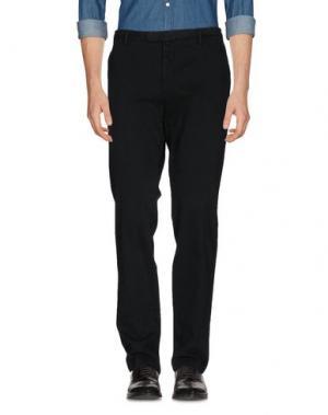 Повседневные брюки ANGELO NARDELLI. Цвет: темно-зеленый