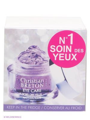 Гель для век Christian Breton Лучистый взгляд, 15мл, Paris. Цвет: белый
