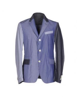 Пиджак WOOSTER + LARDINI. Цвет: небесно-голубой