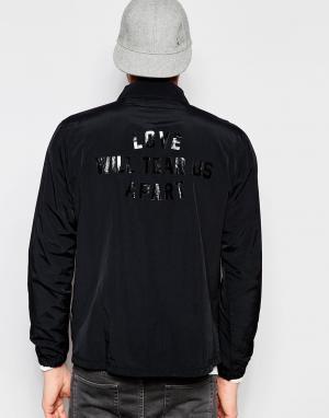Izzue Спортивная куртка. Цвет: черный