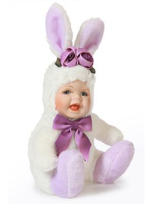 Кукла интерьерная Зайка DAVANA. Цвет: сиреневый, белый