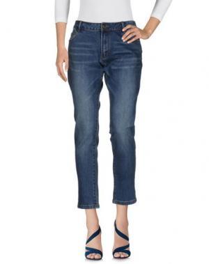 Джинсовые брюки PAUL & JOE SISTER. Цвет: синий